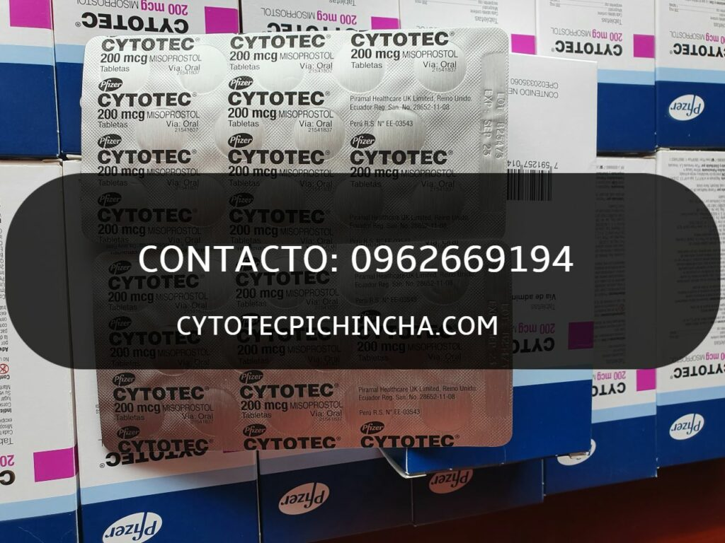 Pastillas cytotec en Quito originales